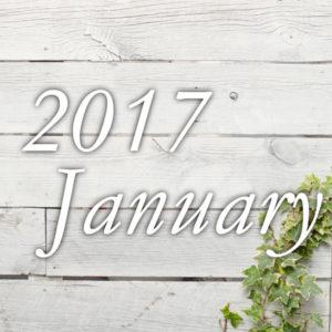 2017年1月予約可能日