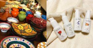 モロッコ料理とスキンケアのお話会