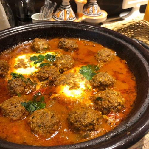 モロッコ家庭料理専門店ル・マラケシュのケフタタジン