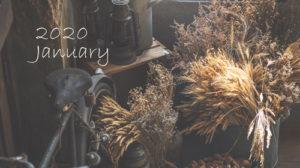 2020年1月予約可能日