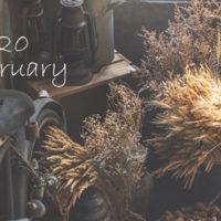 2020年2月オーガニックフェイシャルご予約可能日