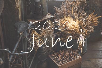 6月のオーガニックフェイシャルトリートメントご予約可能日