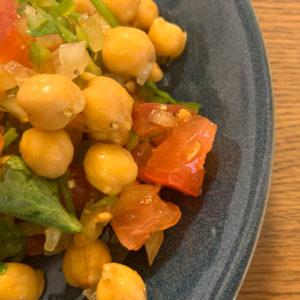 ひよこ豆のエスニックサラダ