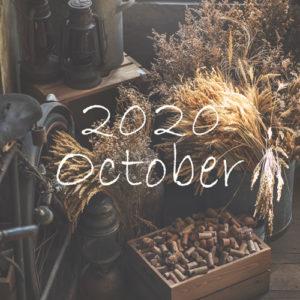 オーガニックフェイシャル オンクレール10月のご予約可能日