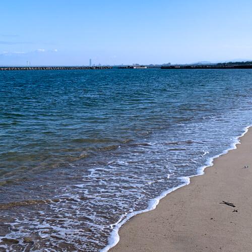 淡輪ビーチ