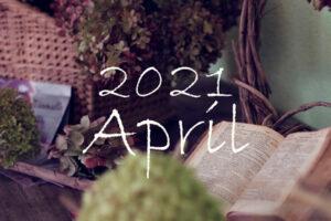 オーガニックフェイシャル4月のご予約可能日