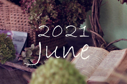 2021年6月のオーガニックフェイシャルご予約可能日