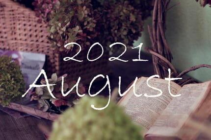 オーガニックフェイシャル8月のご予約可能日